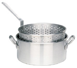 1201 10 Qt. Aluminum Fry Pot