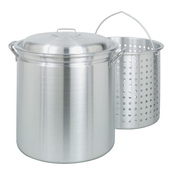 34 Qt. Aluminum Stock Pot
