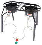 DB250 Dual Burner Cooker