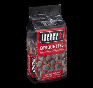Weber Charcoal Briquettes $14.99
